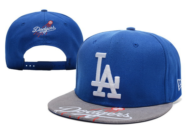 Los Angeles Dodgers Blue Snapback Hat XDF 0721